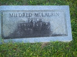 Susie Mildred <i>McLaurin</i> Price