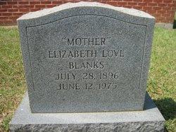 Elizabeth Lizzie <i>Love</i> Blanks