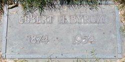Elbert Humbert Bert Byrum