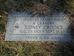 Sidney Sid Crooks