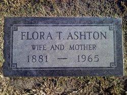 Flora Theresa <i>Martin</i> Ashton