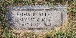 Emma Frances <i>Tharp</i> Allen