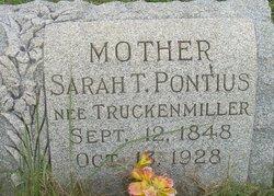 Sarah <i>Truckenmiller</i> Pontius
