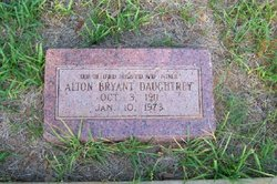Alton Bryant Daughtrey