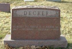 Albert F Decker