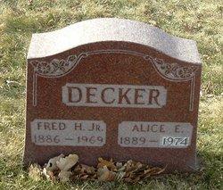 Alice E Decker