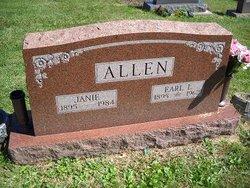 Janie <i>Halls</i> Allen