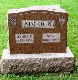 Susie <i>Lentz</i> Adcock