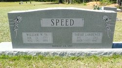 William Wages Speed, Sr