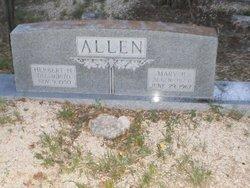 Mary Basheba <i>Thurman</i> Allen