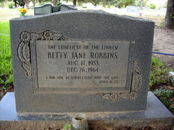 Betty Jane <i>Bartlett</i> Robbins