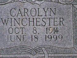 Carolyn <i>Chisholm</i> Winchester