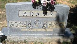 Eva <i>Milam</i> Adams