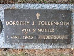 Dorothy Jane <i>Myers</i> Folkenroth