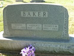 Frances Fannie <i>Longenecker</i> Baker
