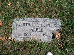 Gertrude A <i>Boyles</i> Arble