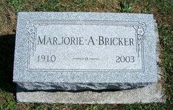 Marjorie A <i>Stall</i> Bricker