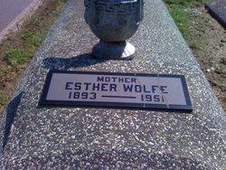 Esther <i>Clark</i> Wolfe
