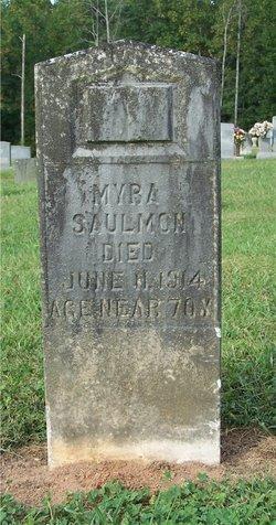 Myra Elizabeth <i>Fox</i> Saulmon