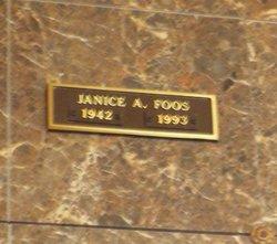 Janice A. <i>Fuller</i> Foos