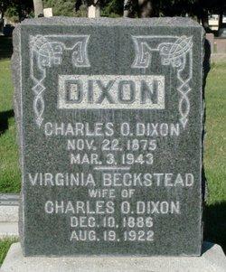 Virginia Elizabeth <i>Beckstead</i> Dixon