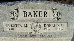Luretta Margaret <i>Kish</i> Baker