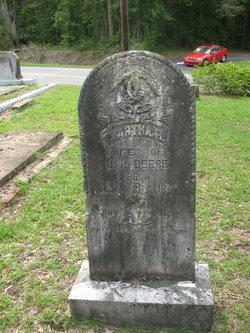 Martha R <i>Newton</i> Deese
