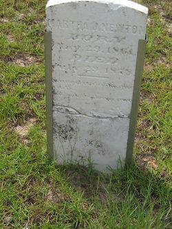 Martha J Newton