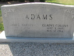 Gladys <i>Collins</i> Adams