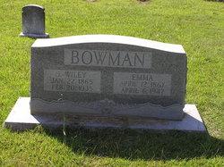 Emma <i>Boutwell</i> Bowman
