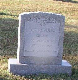 Alice Belle <i>Heflin</i> Gruber