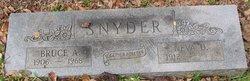Bruce A Snyder