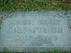 August Henry Herdejurgen