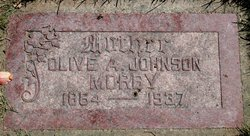 Olive Thersia Ann <i>Johnson</i> Morby