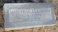 Martha Frances <i>Glass</i> Latham