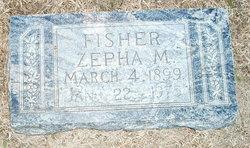 Zepha M. <i>Johnston</i> Fisher