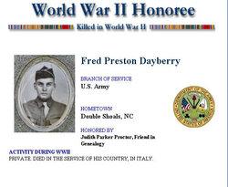 Fred Preston Dayberry