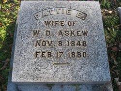 Pattie E <i>Askew</i> Askew