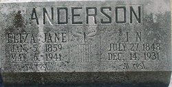 Eliza Jane <i>Hill</i> Anderson
