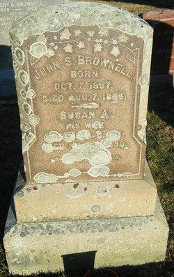 Susan A <i>Tallman</i> Brownell