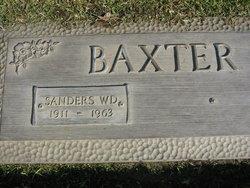 Sanders W.D. Baxter