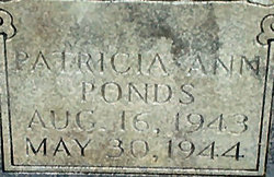 Patricia Ann Ponds