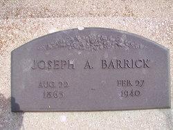 Joseph A Barrick