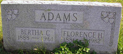 Bertha C Adams