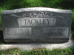 Betty Louise Tackley