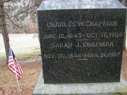 Mrs Sarah J. <i>Decker</i> Chapman