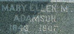 Mary Ellen Mellor <i>Jones</i> Adamson