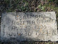 Rozetta <i>Prince</i> Boatman