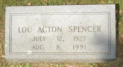 Lou Acton Spencer