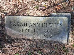 Sarah Ann Sallie <i>Boulware</i> Dewees